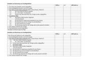 Checkliste für ein Parallelgedicht
