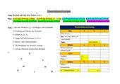 Dreiecksberechnung - Anleitung Excel