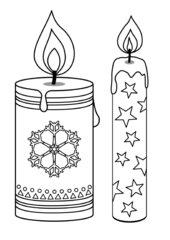 Kerzenvorlagen