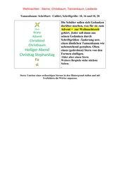 Weihnachten: Tannenbaum, Sterne mit PC
