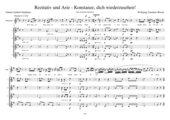 Rezitativ und Arie - Entführung aus dem Serail