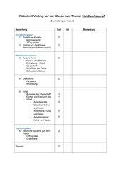 Bewertung TC Kl.6 Handwerksberuf
