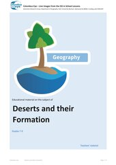 Deserts and their Formation