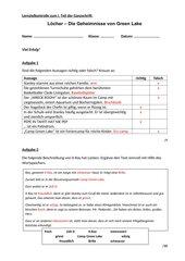 Lernzielkontrolle - Lektüre