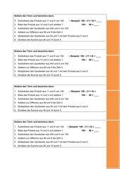 einfache Terme notieren und berechnen