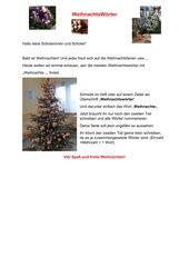 Weihnachtswörter (Weihnachts-)