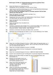 Gleichungen mit Hilfe von Tabellenkalkulationsprogramme graphisch lösen am Beispiel von Excel