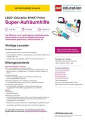 Super-Aufräumhilfe: Material für LEGO Education SPIKE Prime (Klasse 5-8, Einsteiger)