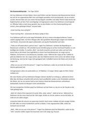 Kurzgeschichte/Inhaltsangabe - Die Examenslehrprobe