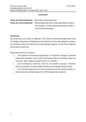 Einführung Baumdiagramme