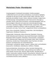 Wortschatz: Vergnügungspark/Prater- Wurstelprater