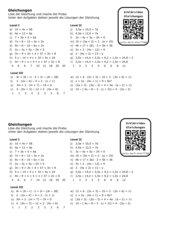 AB Gleichungen mit Erklärvideo