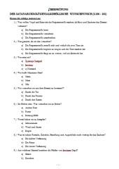 Klassenlektüre-Überprüfung Wunschpunsch S. 106-161 Lösungen