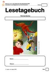 Welttag des Buches 2020: Abenteuer in der Megaworld - STANDARD Lesetagebuch für Klasse 3 bis 5 (bis 7 inklusiv)