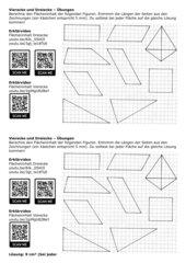 Flächeninhalt von Vierecken und Dreiecken