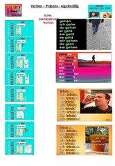 Verben - Konjugation - Präsens - regelmäßig - mit Video