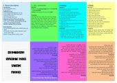 Faltbuch Speaking test Abschlussprüfung