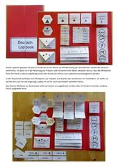 Deutsch-Lapbook Klasse 2
