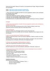 Aerosole und Tröpfcheninfektion / Corona