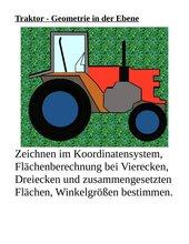 Traktor im KOS - Geometrie in der Ebene