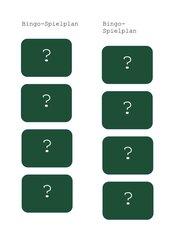Einfaches Bingo zur Corona-App