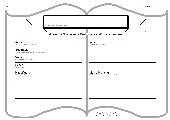 Steckbrief für eine Buchvorstellung in Klasse 2