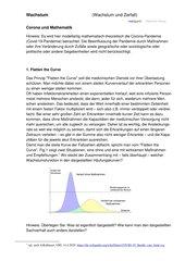 Corona und Mathematik