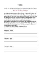 Deutsch Arbeitsmaterialien Texte Mit Aufgaben 4teachers De