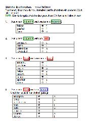 Gleiche Buchstaben – neue Wörter differenziert mit dem Anfangsbuchstaben des Lösungswortes