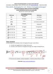 Einfache Vortragsbezeichnungen /Artikulationszeichen 1.13 Arbeitsblatt+Lösung+Erklärvideo
