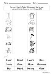 Frohes Lernen ab Hh --- Wort-Bild
