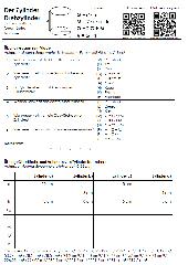 Zylinder, Kegel, Kugel - Eigenschaften, Oberfläche, Volumen