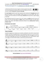 Aufbau einer Durtonleiter 2.6 Arbeitsblatt+Lösung+Erklärvideo+interaktive Übungen