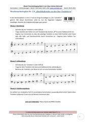 Durtonleitern bestimmen und notieren 2.8 Arbeitsblatt+Lösung+Erklärvideo+interaktive Übungen