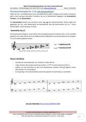 Die Ganztonleiter 2.18 Arbeitsblatt+Lösung+Erklärvideo+interaktive Übungen