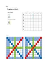 Mathematische Vorlagen