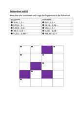 Zahlenrätsel mit DZ