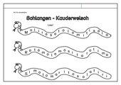 Leseübung zur Fibel 'Mimi die Lesemaus' Bayern, ab Ss einsetzbar - 'Buchstabenkauderwelsch'