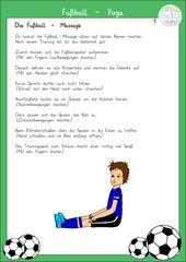 Fußball - Massage als Entspannung zwischendurch
