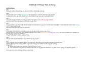 Roll a story - Creative Writing