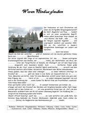 Woran Hindus glauben