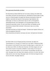 Gruselgeschichte    -    Klassenarbeit  (Kl.6, HS)