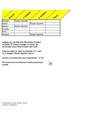Excel - Logische Prüfung mit Wenn / Oder Funktion