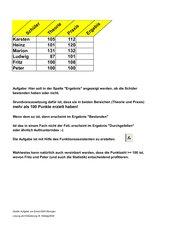 Excel: Logische Prüfung mit  Wenn / UND
