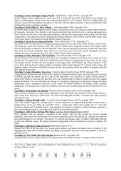 Lektüreliste Klasse 11 - zur Abstimmung