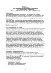 Blitzlesen - eine Methode zur Steigerung der Lesefertigkeit