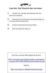 Wer war Joan Miro?