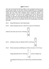 Textaufgabe mit verschiedenen Rechnungen zur analytischen Algebra