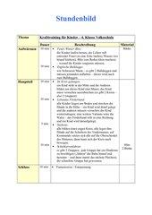 Krafttraining für Kinder in der 3. + 4. Klasse Volksschule