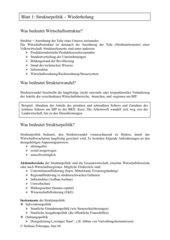 Infoblatt Strukturpolitik